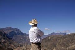 Zimapan山脉 免版税库存照片