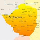 Zimbabwe ilustracja wektor