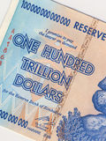 Zimbabwe - Bankbiljet - HyperInflatie Stock Fotografie