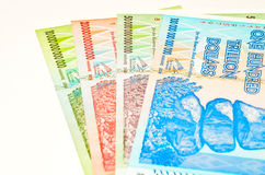Zimbabwe dollars Royalty Free Stock Photos