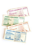 Zimbabwe dollars Stock Photo