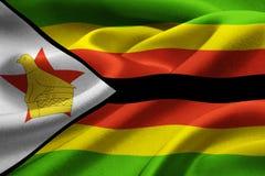 Zimbabwe flag Stock Photos