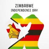 Zimbabwe independence day. Stock Image