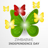 Zimbabwe independence day. Stock Photos