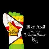 Zimbabwe independence day. Royalty Free Stock Image
