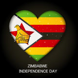 Zimbabwe independence day. Stock Images