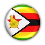 Zimbabwe-Markierungsfahne Stockbilder