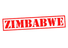 ZIMBABWE. Rubber Stamp over a white background Royalty Free Stock Photography