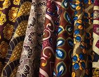 Zimbabwe tkaniny Zdjęcia Royalty Free