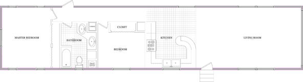 1980 Zimmer Mobile Home. Floor plan. One of many floor plan layouts. 2 bedroom 1 bathroom royalty free stock photography