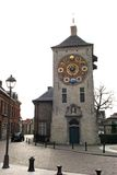 Zimmer's clocktower. In Lier with it's astronomical clock Royalty Free Stock Image