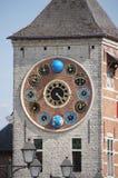 Zimmer-Turm mit Jubiläumuhr in Lier, Belgien Stockbild