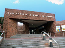 Zimmerli Art Museum. Is located on the campus of Rutgers university in New Brunswick,NJ Stock Image