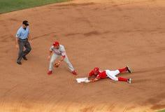 Zimmerman fa scorrere nel secondo Fotografie Stock
