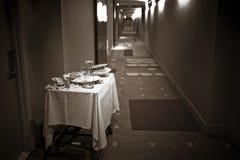 Zimmerservice Stockbild