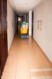 Zimmerservice-Laufkatze Stockbilder