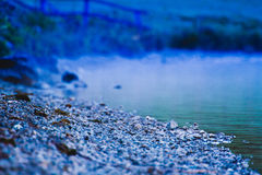 Zimna Alaska plaża obraz royalty free