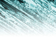 Zimna błękitna i biała tło tekstura Obrazy Royalty Free