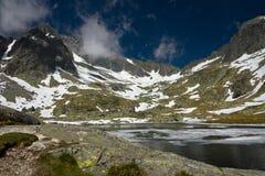 Zimna dolina w Wysoki Tatrzańskim Zdjęcie Stock