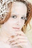 Zimna lodowy princess Zdjęcie Stock