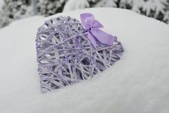 zimna miłość Zdjęcie Royalty Free