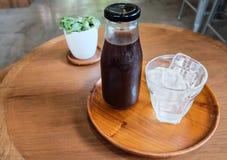 Zimna parzenie kawa Zdjęcie Royalty Free