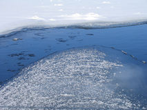 zimna rzeka zdjęcie stock