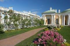 Zimna skąpanie z agatów pokojami w Tsarskoye Selo, Petersburg (Pushkin) Fotografia Stock