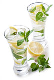 zimna świeża lemoniada Zdjęcia Stock