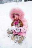 zimna zima Fotografia Royalty Free