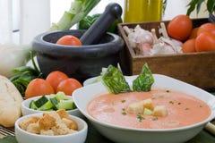 zimna zupa Zdjęcie Royalty Free