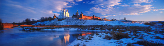 Zimnenskiy Svyatogorskiy Uspenskiy monaster Fotografia Stock
