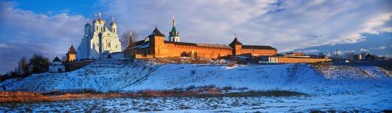 Zimnenskiy Svyatogorskiy Uspenskiy monaster Obraz Royalty Free