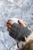 zimno ciepły Fotografia Royalty Free