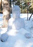 Zimny Buddha Obraz Royalty Free