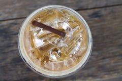 Zimny kawowy napój Zdjęcia Royalty Free