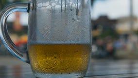 Zimny Lekki piwo w szkle zbiory