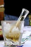 Zimny śliwkowy brandy lub schnapps Obraz Royalty Free