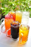 Zimny napoju owocowego i ziołowego tradycyjny tajlandzki napój, Zdjęcie Royalty Free