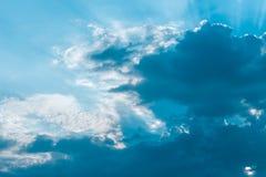 Zimny niebo Fotografia Royalty Free