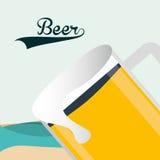 Zimny piwo ilustracja wektor
