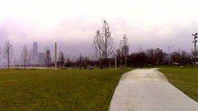 Zimny popołudnie w Chicago zdjęcie wideo