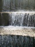 zimny puszek target460_1_ kroków kamienia wodę Obrazy Royalty Free