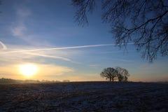 Zimny ranek w Luty Obrazy Royalty Free
