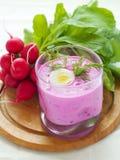 zimny zupny warzywo obrazy stock