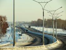 Zimnyaya Highway Stock Images