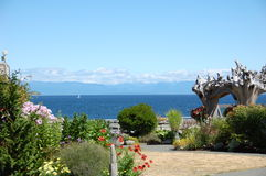 Zimorodka kurort - Salish morze Zdjęcia Royalty Free