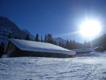 zimowy dzień Obrazy Royalty Free
