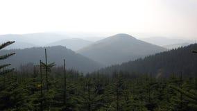 zimowy krajobraz Zdjęcia Royalty Free