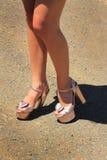 Zimperliche Schuhe Stockbilder